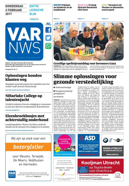 5189b66f50220b VARnws Leidsche Rijn 2 februari 2017 by VARnws - issuu