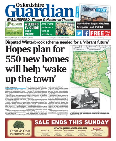 2 February 2017 Guardian Wallingford By Taylor Newspapers