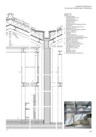 Bauen mit stahl by detail issuu Fachwerktrager stahl detail