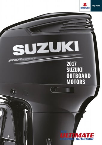 Suzuki df 60 bra standardutrustning
