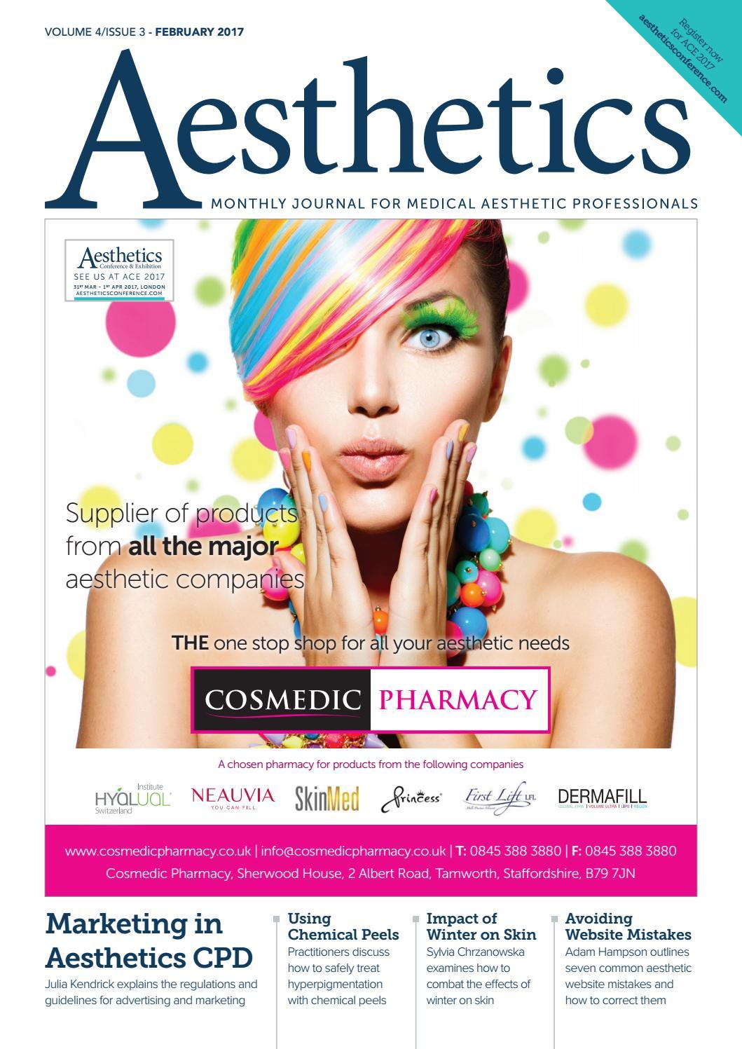 Aesthetics February 2017 by Aesthetics Journal - issuu