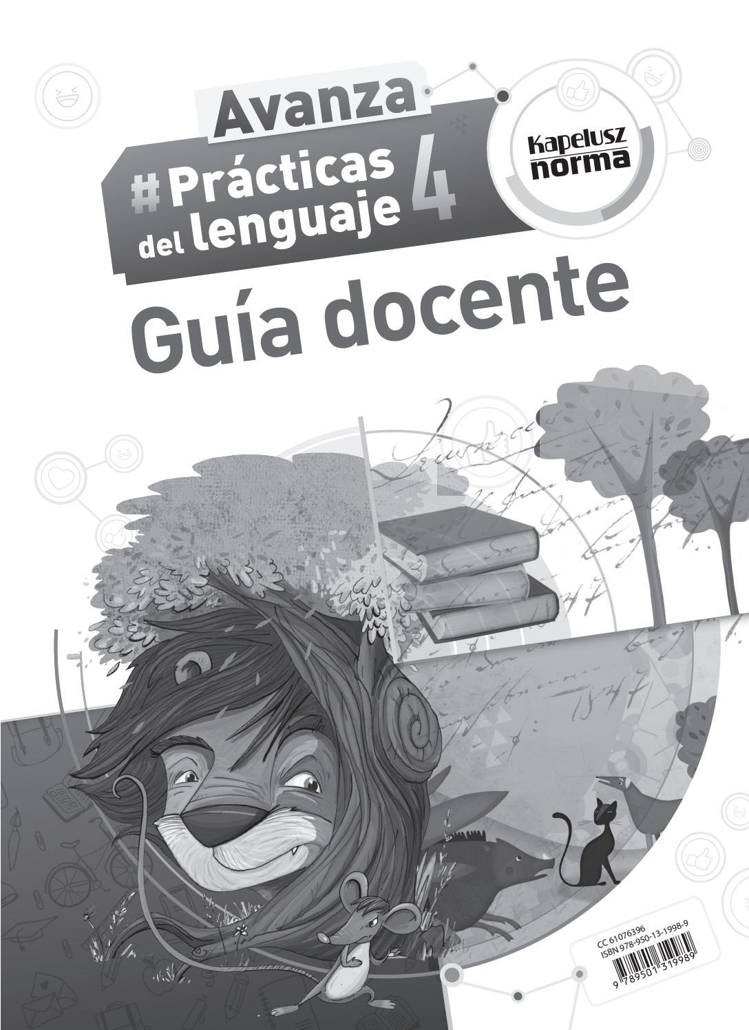 Gd lengua 4 avanza by Kapelusz Norma - issuu
