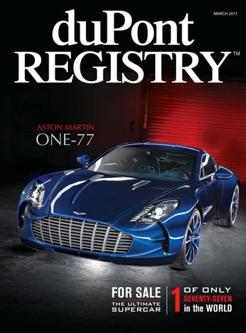 Dupontregistry Autos March 2017 By Dupont Registry Issuu