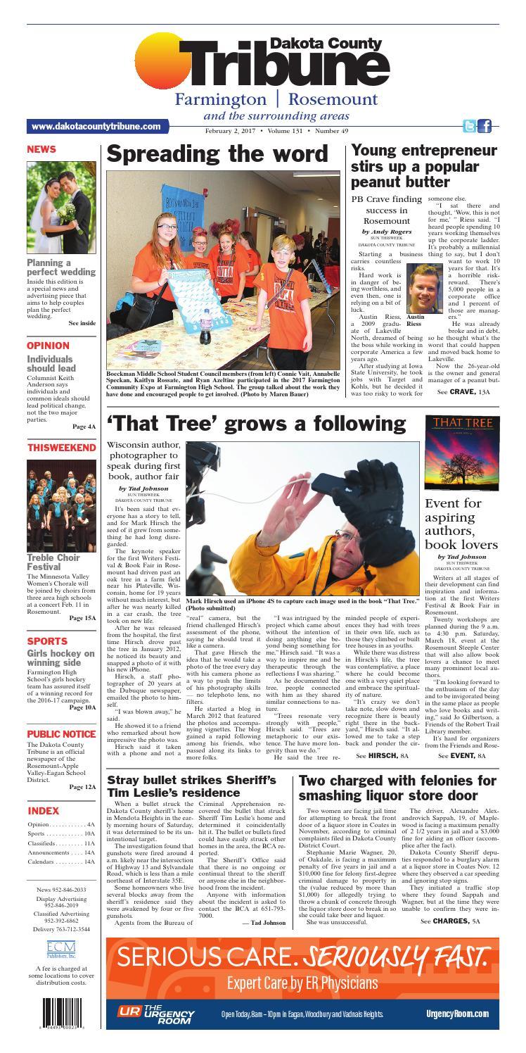 Dct2 2 17 by Dakota County Tribune - issuu
