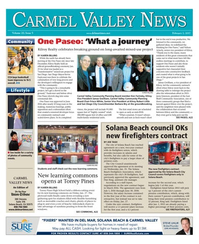 8584c303ec6 Carmel valley news 02 02 17 by MainStreet Media - issuu