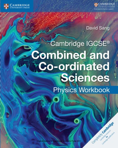 Preview Cambridge IGCSE Combined and Co-ordinated Sciences Physics