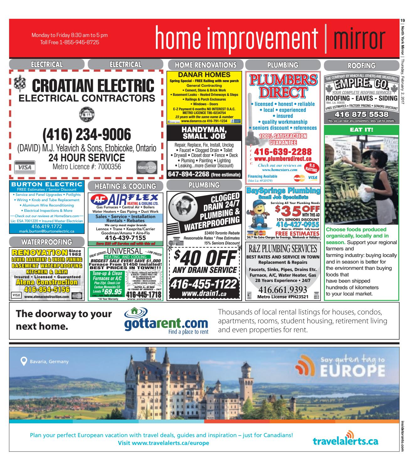 The North York Mirror East February 02 2017 By Knob And Tube Wiring Toronto Issuu