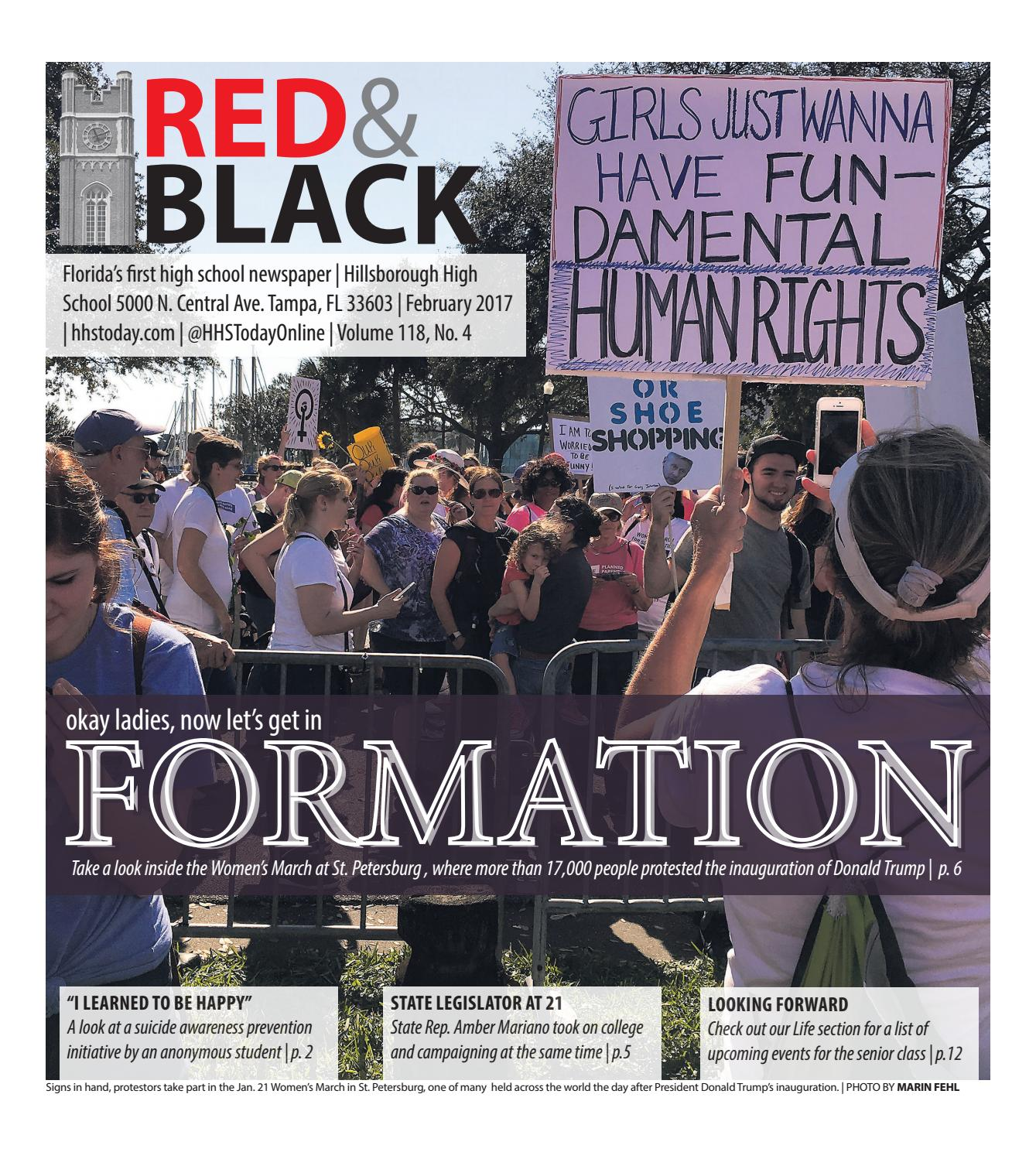 Red & Black February 2017 by HHS Today - issuu