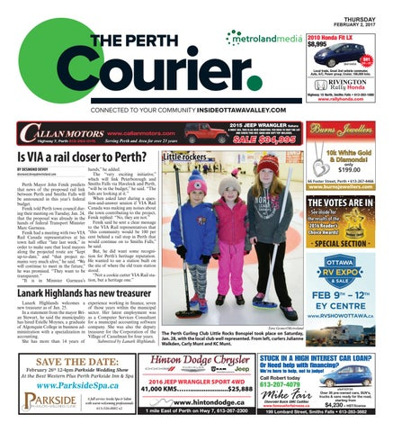 Perth020217 By Metroland East The Perth Courier Issuu