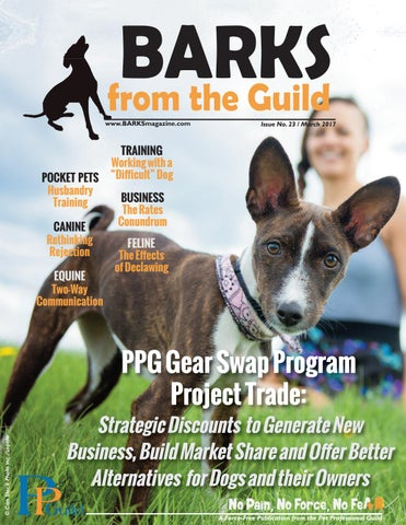 BARKS from the Guild March 2017 by The Pet Professional