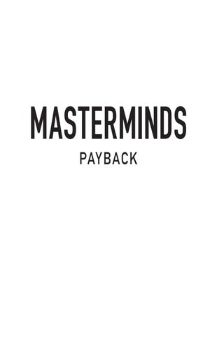 Masterminds: Payback by Gordon Korman by HarperCollins Children\'s ...