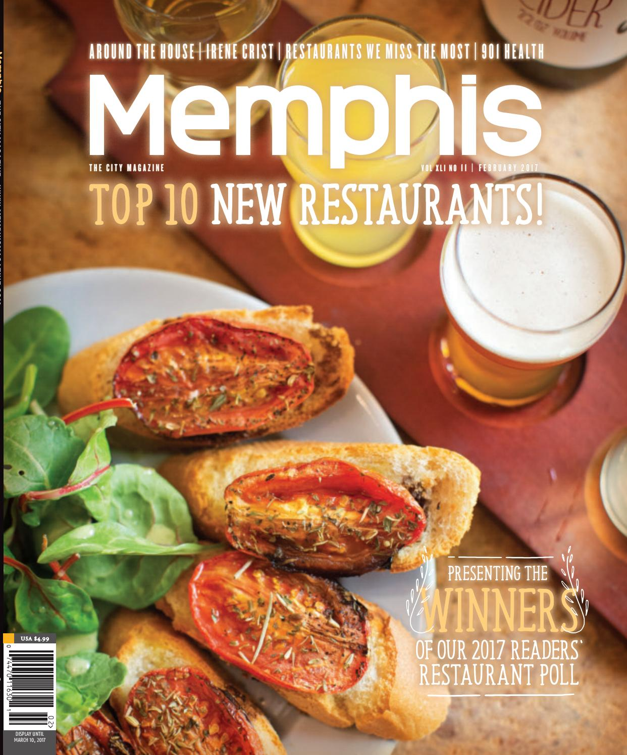 Memphis Magazine February 2017 By