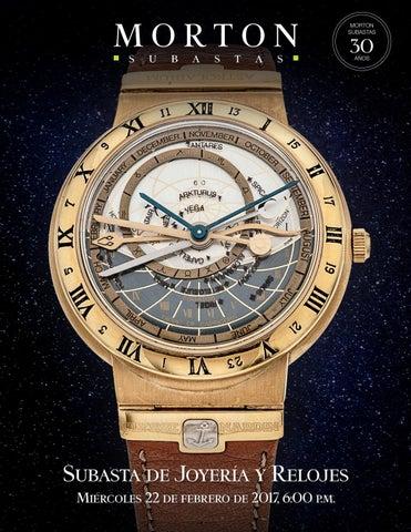 17aaba236833 Subasta de Joyería y Relojes by Morton Subastas - issuu