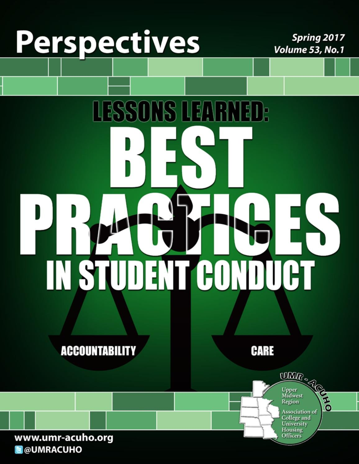 Spring 2017 Perspectives by UMR-ACUHO Perspectives - issuu