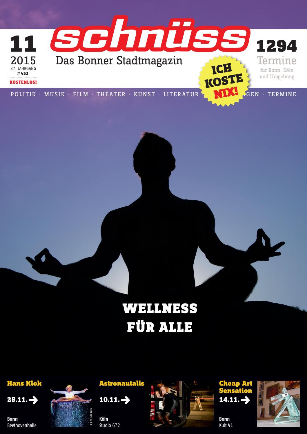 Schnüss 2015/11 by Schnüss - Das Bonner Stadtmagazin - issuu
