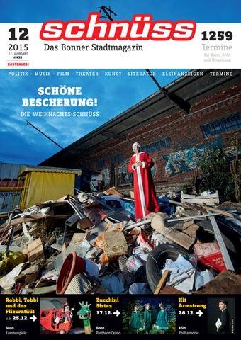 Schnüss 2015/12 by Schnüss - Das Bonner Stadtmagazin - issuu