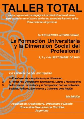 1er Encuentro Ponencias Versión Completa By Arquimedes
