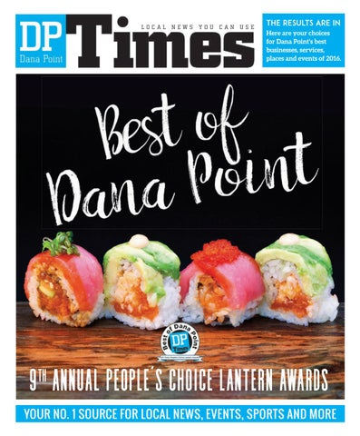 9th Annual Best of Dana Point People's Choice Lantern Awards