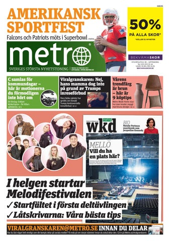 on sale e762d 4f810 20170203 se goteborg by Metro Sweden - issuu