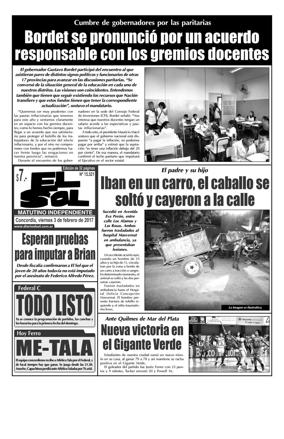 Diario El Sol (Viernes 03 febrero 2017) by Diario El Sol - issuu e9557c370293b