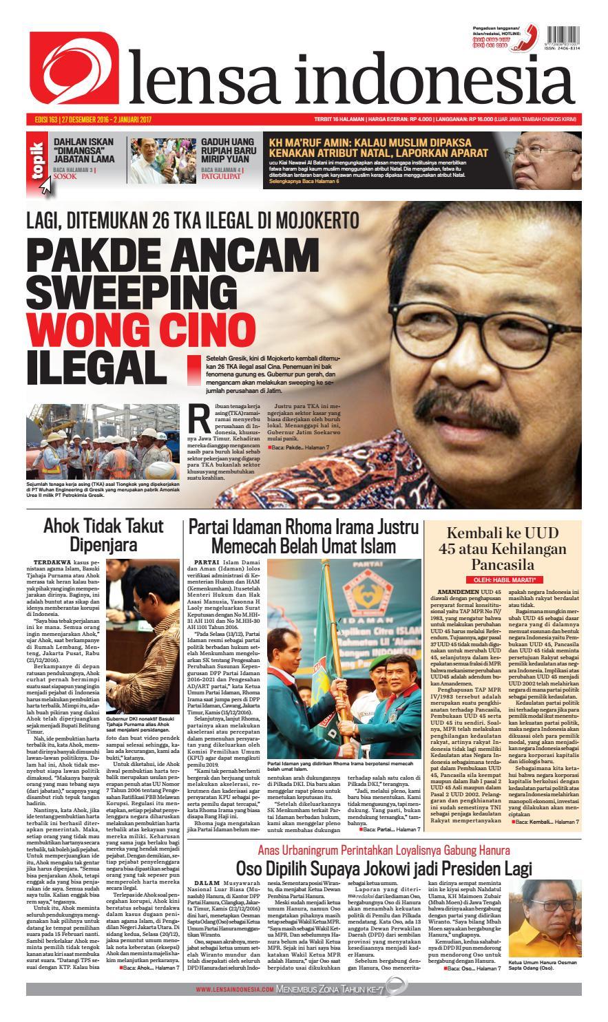 Koran Lensa Indonesia Edisi 163 by Koran Lensa Indonesia - issuu 6005a6bda5