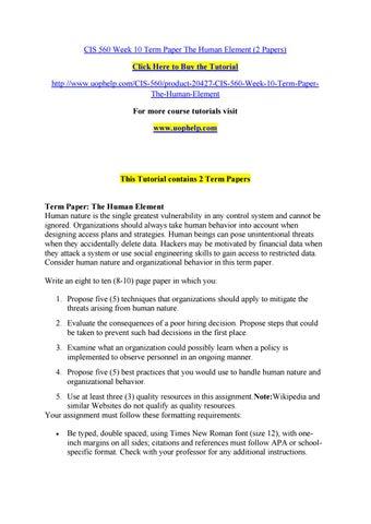 nature of human behavior in organization