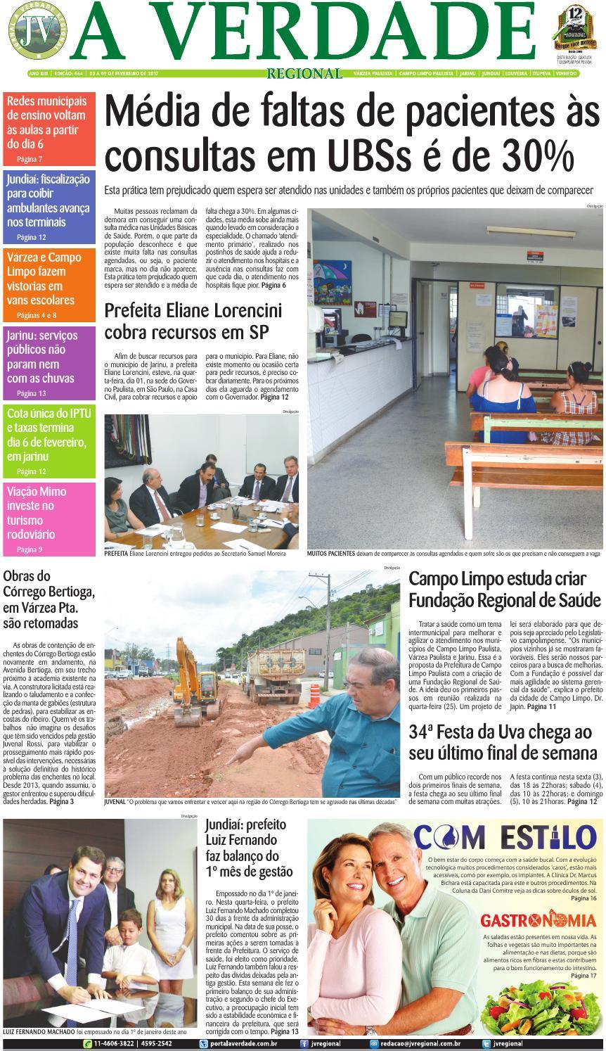 JV Regional ® - Edição 664 by Jornal A Verdade Regional - issuu 0378d7c0d4