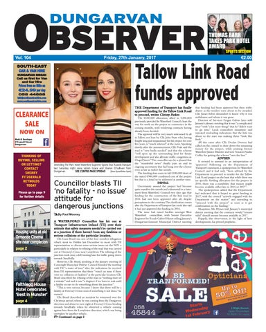 0189fc2dd98 Dungarvan observer 27 1 2017 edition by Dungarvan Observer - issuu