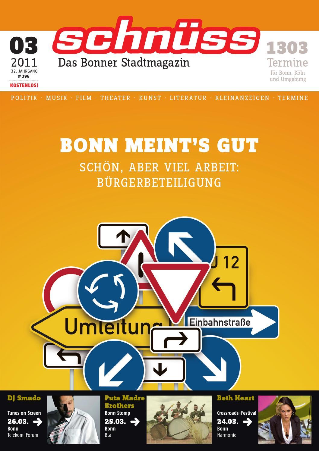 Schnüss 2011/03 by Schnüss - Das Bonner Stadtmagazin - issuu