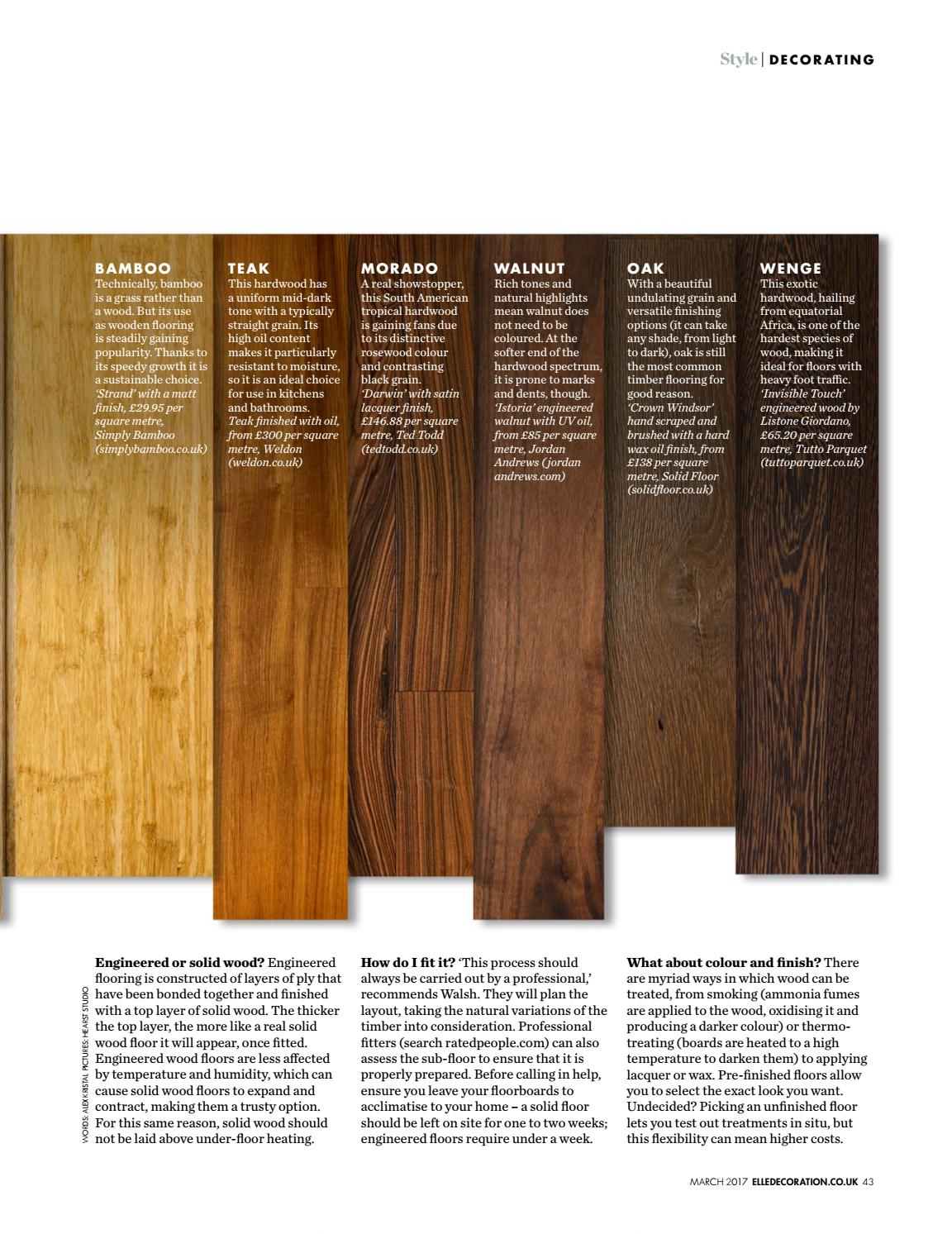 Wenge Oak Solid Wood Flooring 3dfvdfv by 1magazine9 - issuu