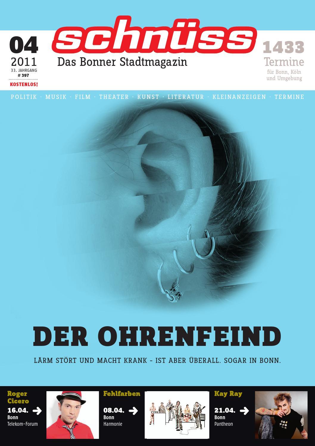 Schnüss 2011/04 by Schnüss - Das Bonner Stadtmagazin - issuu