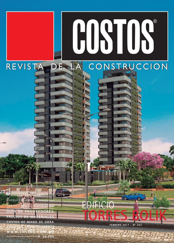 Costos 257 Febrero/2017 by Revista Costos (Paraguay) - issuu