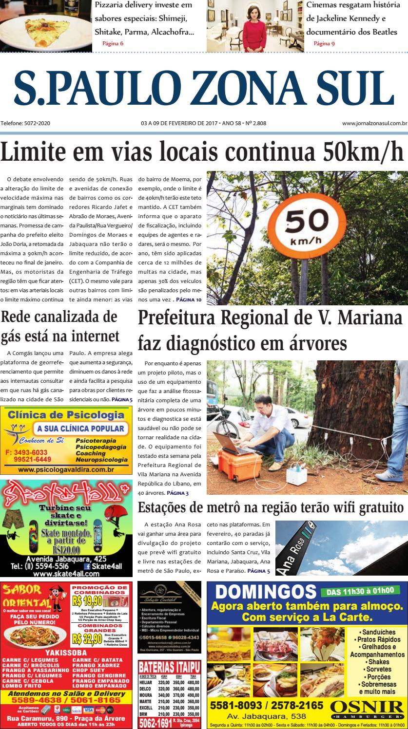 d35824cd9816e 03 a 09 de fevereiro de 2017 - Jornal São Paulo Zona Sul by Jornal Zona Sul  - issuu