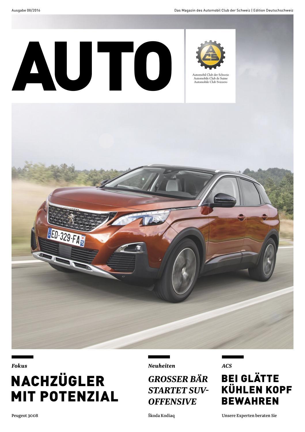 1fe8431b1b127f Das Magazin des Automobil Club der Schweiz | Edition Deutschschweiz by  think software GmbH - issuu