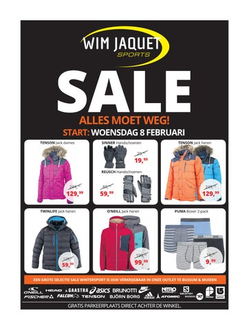 Wim Jaquet Amersfoort.Sale Wim Jaquet Sports By Intersport Daka Amersfoort Issuu