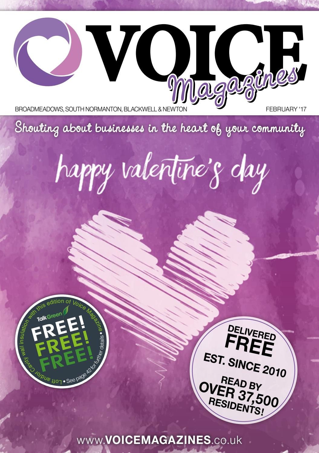 Voice Magazines - Broadmeadows, South Normanton, Blackwell
