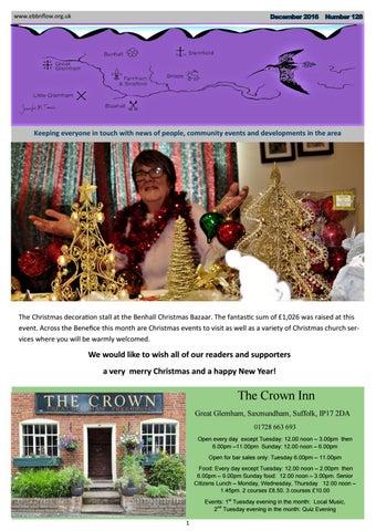 Waitrose saxmundham christmas opening gifts