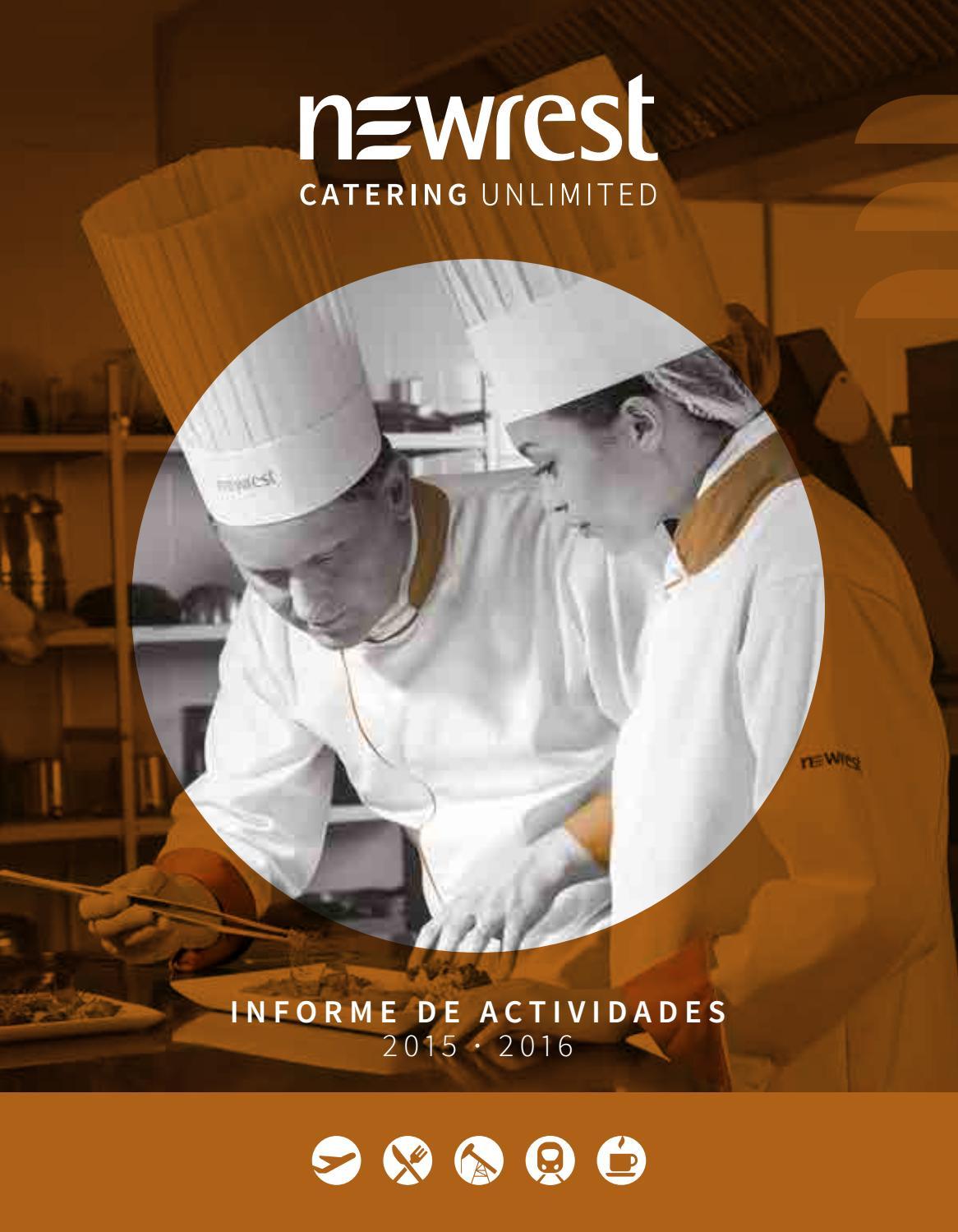 Newrest InformeActividades 2015/16 (ES) by Newrest - issuu
