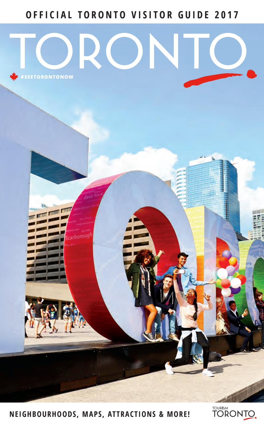 2017 toronto visitor guide by tourism toronto issuu