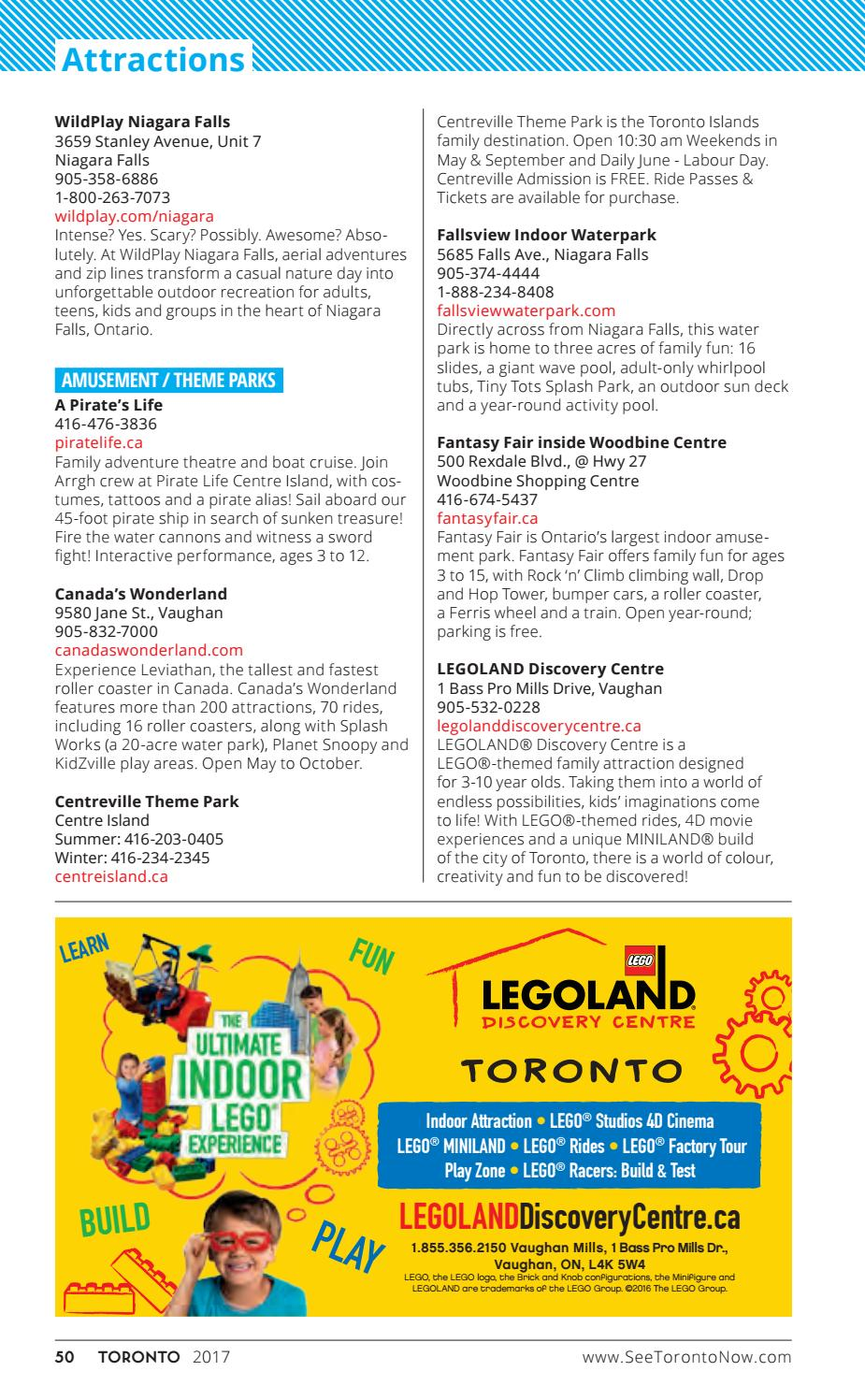 2017 Toronto Visitor Guide By Tourism