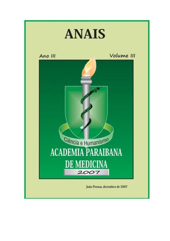 Apmed - Anais - Ano III - Volume III by Academia Paraibana de ... 568a2cb020