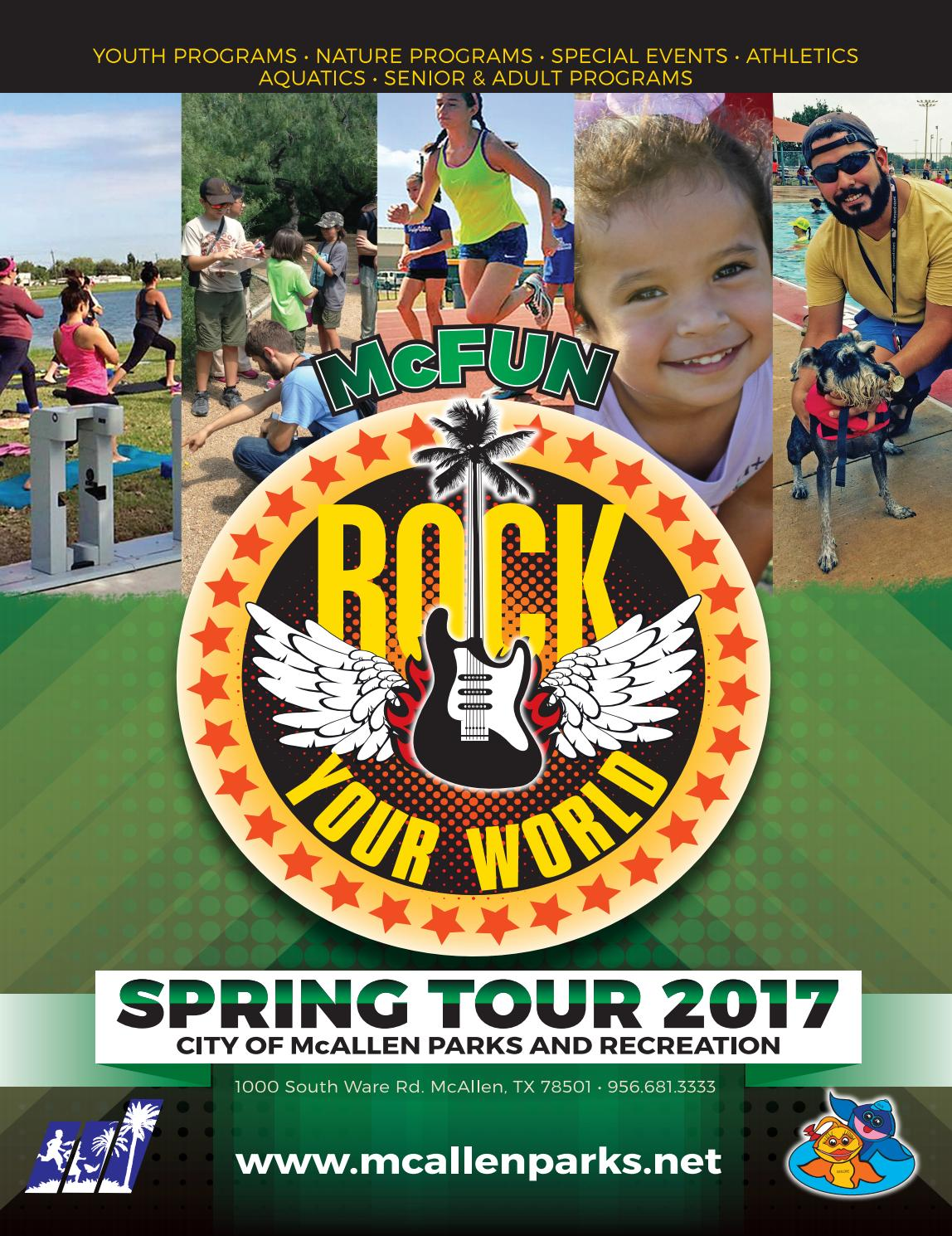 Mcfun spring 2017 by mcallen parks and recreation issuu 1betcityfo Gallery