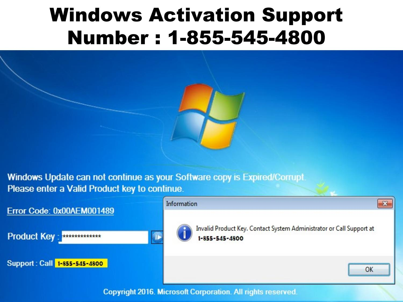 call windows activation