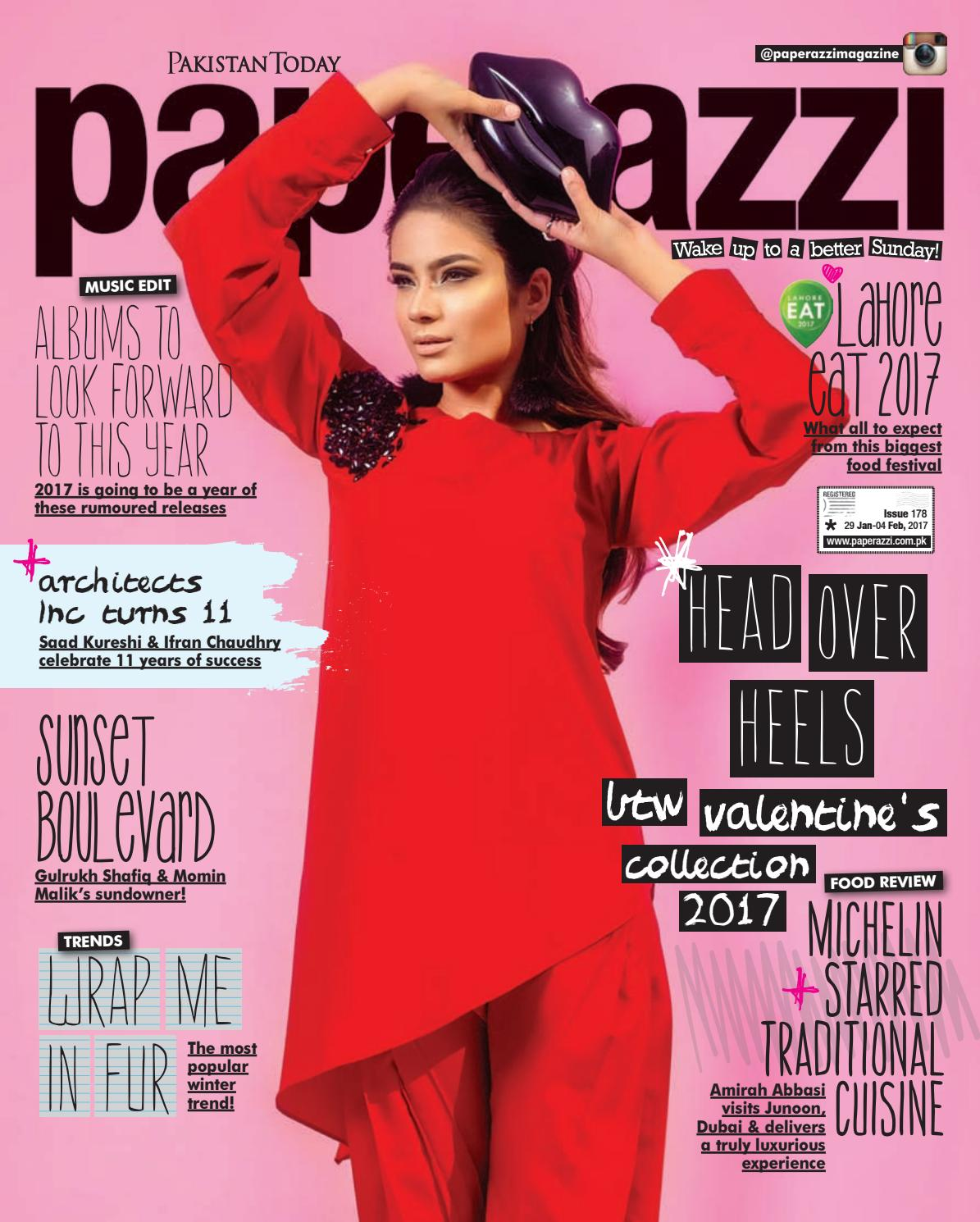 Pakistan Today Paperazzi Issue 179 B Feb 5th, 2017 by