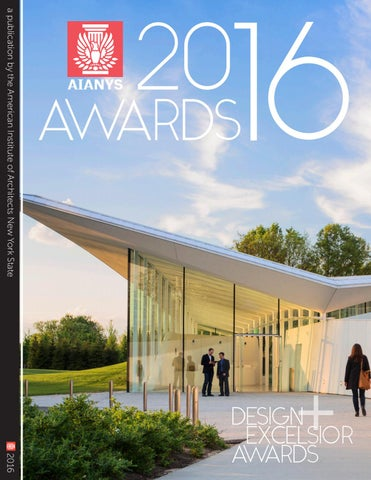 AIANYS 2016 Design And Excelsior Awards By American Institute Of ...