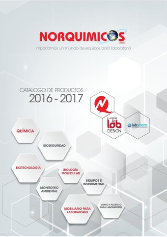 915bf297c4 Catálogo Norquimicos 2016 by designare - issuu