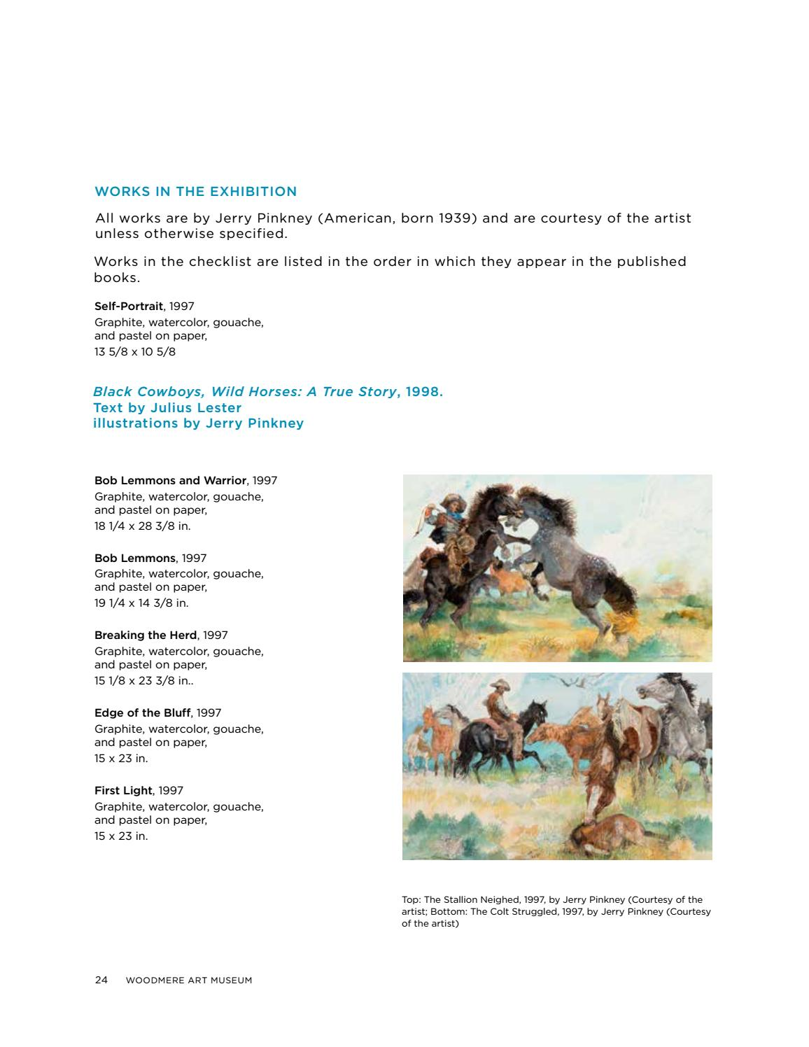 The Storybook Magic Of Jerry Pinkney By Woodmere Art Museum Issuu