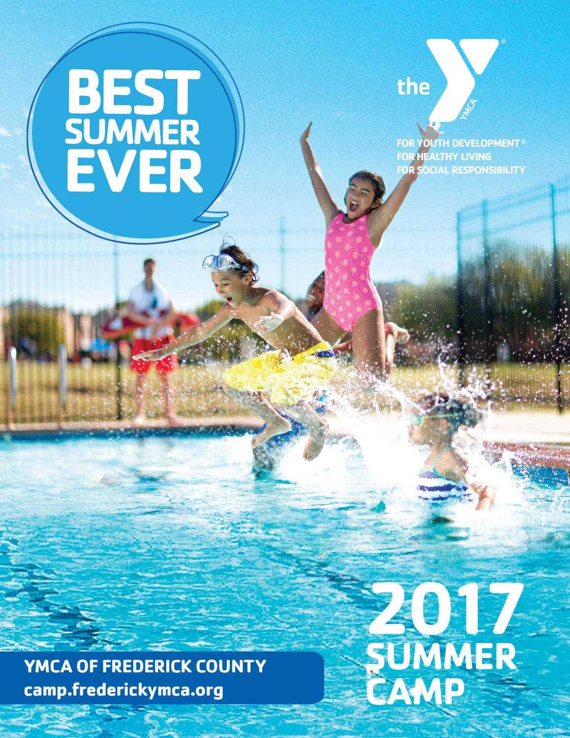 Summer Camp Book - 2017 by YMCA OF FREDERICK COUNTY - Issuu