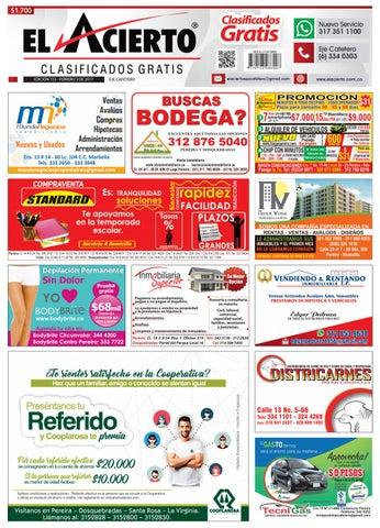 7015085c54953 Pereira 723 3 de febrero de 2017 by El Acierto - issuu