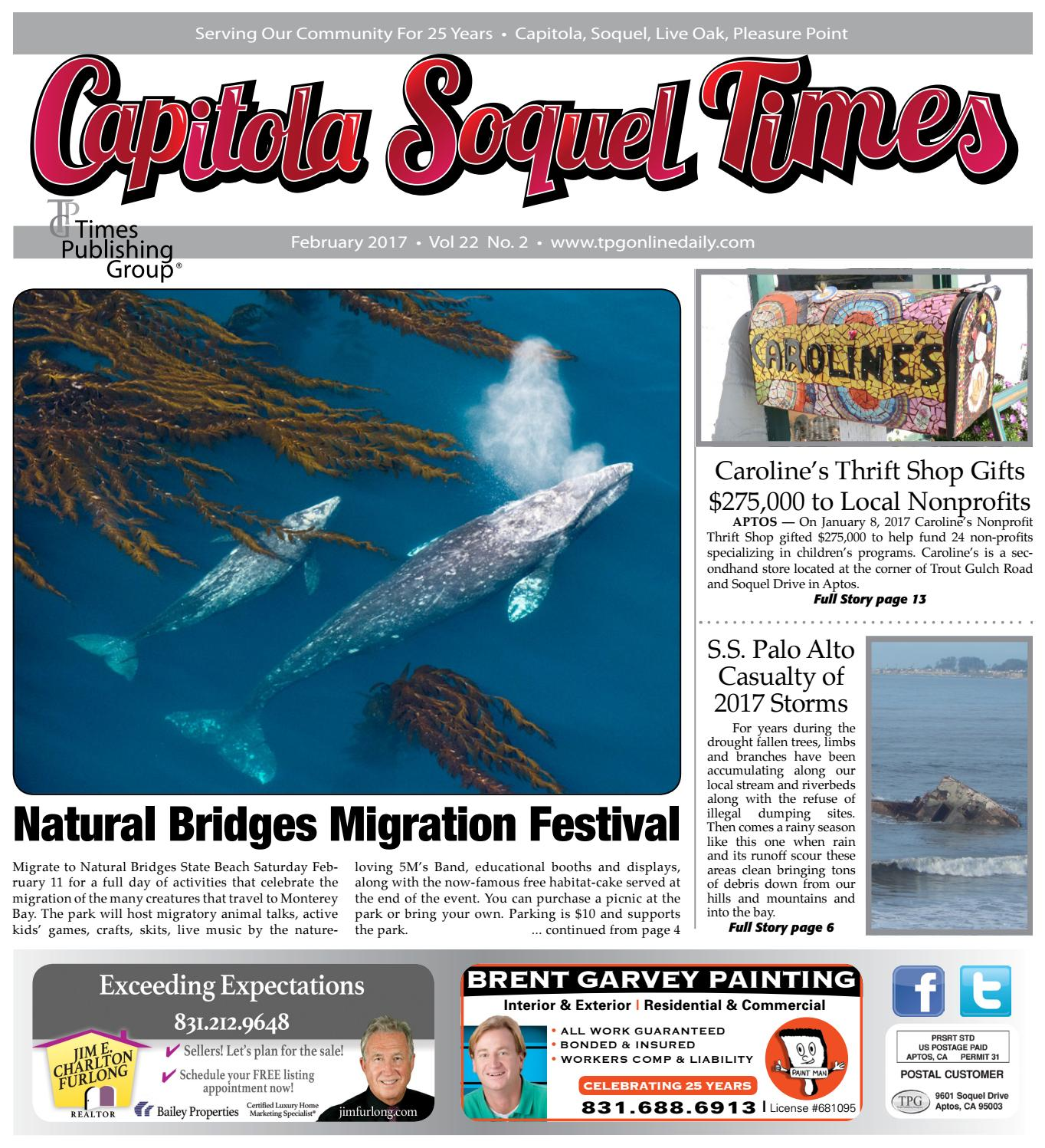 Capitola Soquel Times: February 2017 by Times Publishing